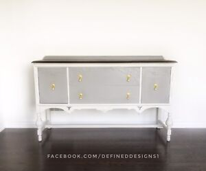 Classic Antique Buffet Sideboard Credenza
