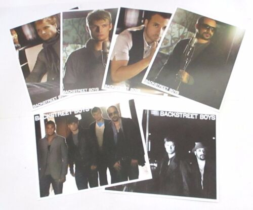 Backstreet Boys This Is Us 7 Piece 8x10 Picture Sticker Gift Set New Official