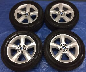 "2013 BMW X5 OEM 18"" Rims & Winter Tires **Perfect Condition**"