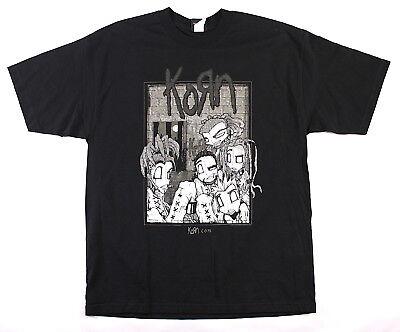 Korn 2000 Sick & Twisted Tour Original Concert T-Shirt Size XL