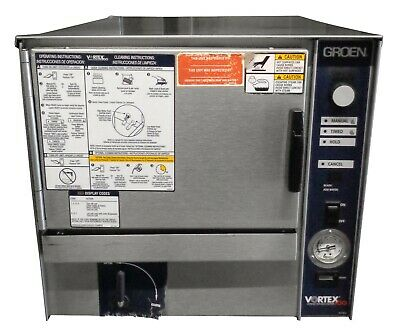 (Groen VRC-3E Countertop Electric Connectionless Convection Steamer - 6.8 kW)