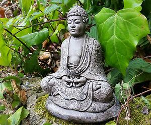 Buddha decorazione giardino statua in gesso fatto a mano da giardino statua di budha rocaille ebay - Il giardino di gesso ...