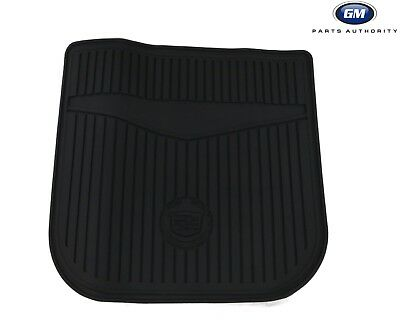 10-16 Cadillac SRX Premium All Weather Cargo Mat 22829342 Black w/ Logo OEM GM