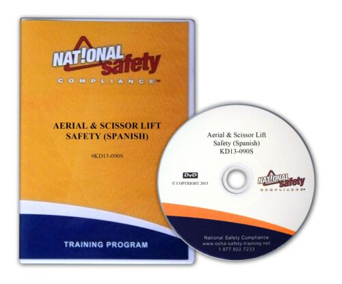 Spanish Aerial & Scissor Lift Safety DVD  Training Kit