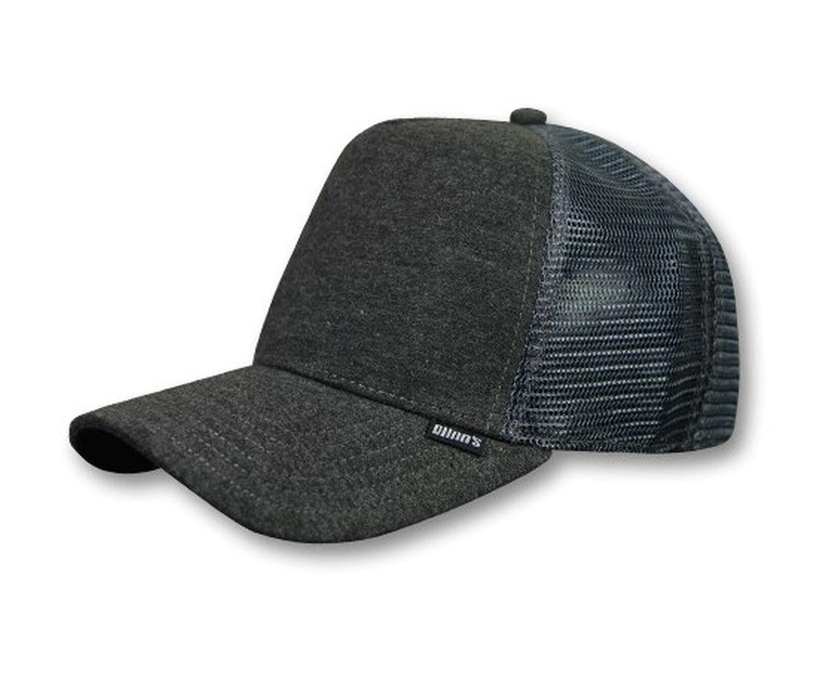 Trucker Cap HFT Cut & Sew charcoal heather