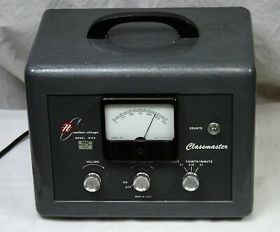 Vintage 1954 Nuclear Chicago 1613a Vacuum Tube Ratemeter Geiger Counter