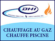 Service de Chauffage et Piscine /Heating Service and Pool.