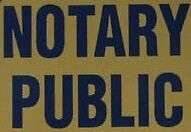 **FREE** Notary Public and Commissioner for Oaths Services