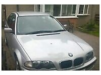 51 plate bmw 318se starts and drives motd 7 months spairs or repairs