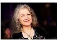 Martha Argerich 75th Birthday concert with Alberto Portughies