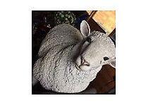 Garden ornament lamb