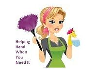 "Miss Cleaner ""Helping Hand When You Need It"""