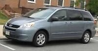 Mini-Van available for taxi rides in GTA