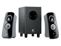 Logitech Z 323 speakers with Sub Woofer. In original box