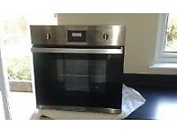 Baumatic stainless steel electric single oven VGC