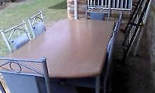 dining table or patio x6 seater Warwick Southern Downs Preview