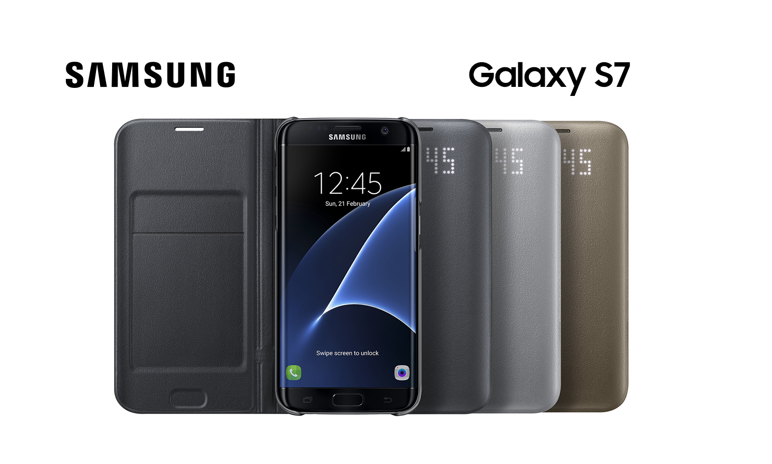 Genuine covers for your Galaxy S7