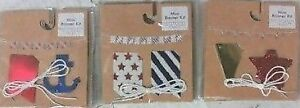NEW 72 Pack of 24 Inch Mini Party Banner Anchor/Star/Star&Strip