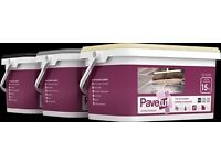 Pavetuf Jointing Compound 15kg tubs. Available in buff, black and grey.