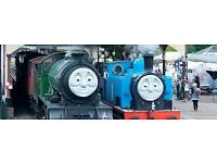 Thomas day out boness 13th may x 3 tickets