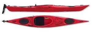Riot Enduro 14 touring kayaks with rudder