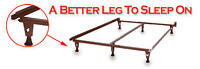 New High Strength Quality Made in USA Real Steel Bed Frames