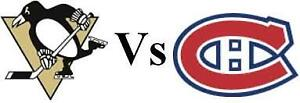 HABS-CANADIENS VS PITTSBURGH PENGUINS! MANY TICKETS FOR SALE!!!