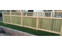 CRAFTSMAN BUILT HEAVY DUTY FENCES, DRIVE WAY , GARDEN GATES,SHEDS DECKING ALL SCREWED TOGETHER .