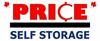 Public Auction at Price Self Storage Saturday March 24,2018