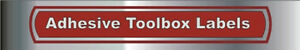 TOOL BOX DRAWER LABELS & WRENCH & SOCKET LABELS Belleville Belleville Area image 3