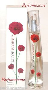 Brand new & boxed Story of Flower Ladies perfumes Natural spray 50ml for women