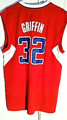 Adidas NBA Jersey Los Angeles Clippers Blake Griffin Red sz M