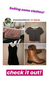 Women's Clothes, Shoes and Bags