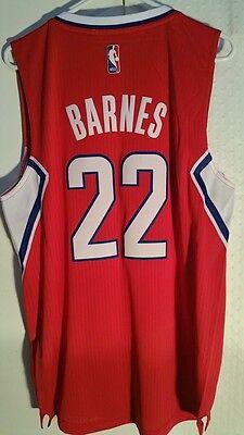 Adidas Swingman 2014-15 NBA Jersey Los Angeles Clippers Matt Barnes Red sz 2X