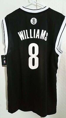 Adidas NBA Jersey Brooklyn Nets Deron Williams Black sz L