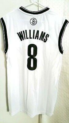 Adidas NBA Jersey Brooklyn Nets Deron Williams White sz L