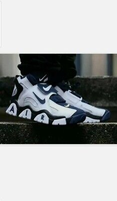 NIKE AIR BARRAGE MID - SIZE (UK 12)(EUR 47.5)(US 13)(AT7847-101) WHITE NAVY
