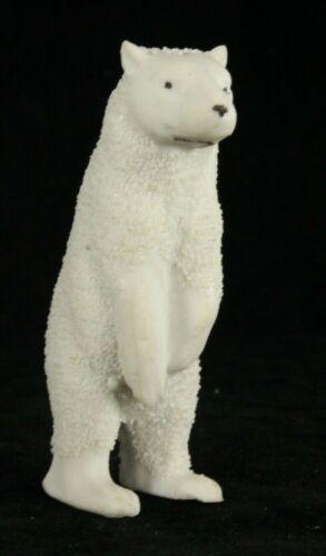 Bisque Standing Bear GERMANY Christmas SNOW BABY German Snowbabies Santa