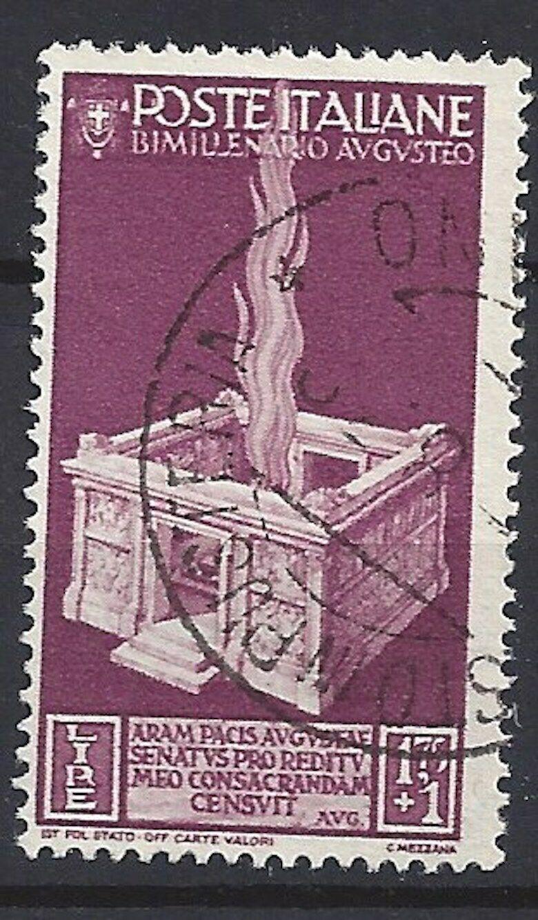 447)) Italien freie Auswahl aus mehrerer Werte oder Sätze gestempelt 10)) Mi 205° 2000 J. Augustus