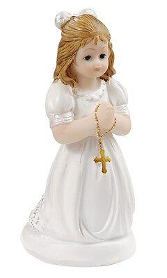 Kommunion Tortenfigur Kommunionkind Tortenaufsatz Konfirmation  Mädchen Kind