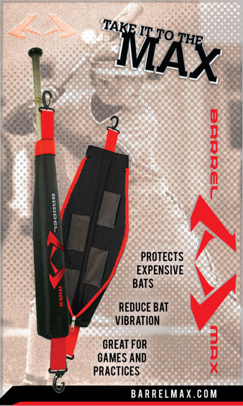 Barrel Max Baseball Bat warmer sleeve for 2012 Easton Youth Power Brigade XL1