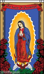 Roman-Catholic-Our-Lady-of-Guadalupe-Religion-Prayer-Banner-5x3-Flag
