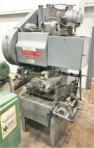 Bliss CH-35 Press • 35 Ton Bliss Punch Press for Sale