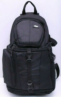 Qipi Camera Bag - Sling Bag Style Camera Case Backpack with Modular Inserts