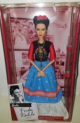 2018 Inspiring Women Barbie Series - FRIDA KAHLO Barbie Doll FJH65 NEW IN STOCK