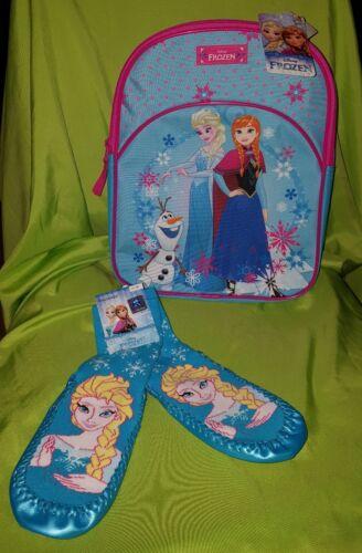 💕NEU💕 Disney ❄FROZEN❄☆ Eiskönigin☆Fanpaket Rucksack💕Haussocken Gr.27-30 💕