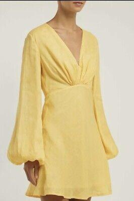Kalita Yellow Linen Dress BNWOT