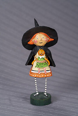 Lori Mitchell™ - Gretta Good Witch - Halloween Girl Figurine Pumpkin Doll 22603