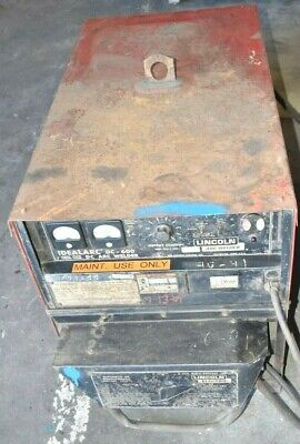 Lincoln Idealarc Dc-600 Dc Arc Welder. 3ph 220-460v 56.5-117a In 44v600a Out