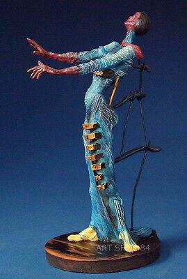 "SALVADOR DALI - Skulptur - ""Brennende Giraffe"" - Figur der Museums Edition"